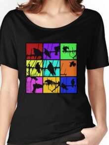 Colours Of Asylum T Women's Relaxed Fit T-Shirt
