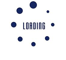 Loading T-shirt - Please Wait File App Buffering Clothing Tee by deanworld