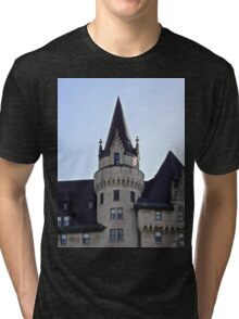 The Chateau Laurier Hotel, Ottawa, ON Canada Tri-blend T-Shirt