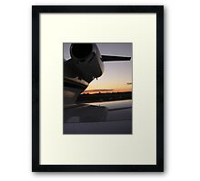 Jet Reflection Framed Print