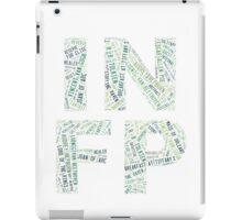 INFP Word Cloud iPad Case/Skin