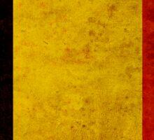 Belgium Flag Sticker