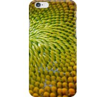 Nature Abstract Sunflower iPhone Case/Skin