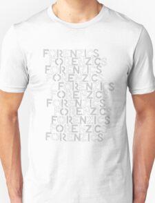 Forenzics - Repetitive Type Pale T-Shirt