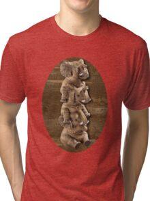 ELEPHANTS...SEE NO EVIL..HEAR NO EVIL,SPEAK NO EVIL TEE SHIRT  Tri-blend T-Shirt