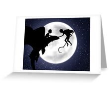 Under the Moon Greeting Card