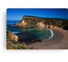 The beach at Childers Cove, Great Ocean Road, Victoria, Australia Canvas Print