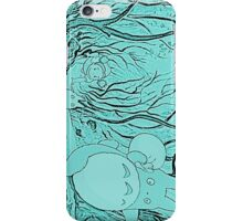 Monochrome Totoro iPhone Case/Skin