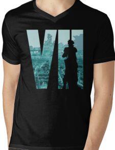 Cloud is back in color Mens V-Neck T-Shirt