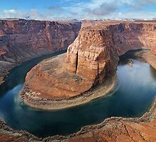 Clearing Storm at Horseshoe Bend by Joshua  Cripps
