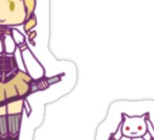 Mami and Kyubey Stickers Sticker