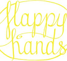 FLAPPY HANDS are HAPPY HANDS - Yellow by autistictic