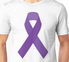 Cancer Awareness Ribbon Unisex T-Shirt