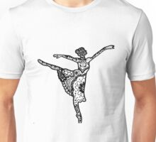Dancer Zentangle Unisex T-Shirt