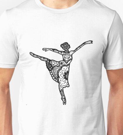 Dancer Zentangle Unisex T-Shirt