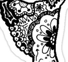 Dancer Zentangle Sticker