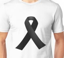 Black Ribbon Unisex T-Shirt