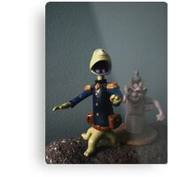 Theres Monsters on the Moon! Metal Print