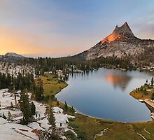 Cathedral Peak by Joshua  Cripps