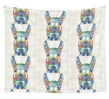 Colorful Llama Art - The Prince - By Sharon Cummings Wall Tapestry
