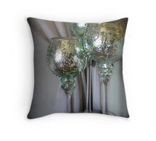 Shiny Baubles Throw Pillow