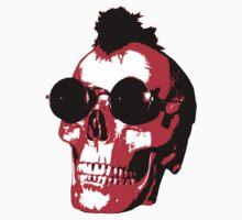 Mohawk Skull - Rock'n'Roll Kids Clothes