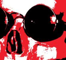 Mohawk Skull - Rock'n'Roll Sticker