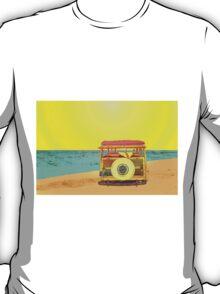 Woody at the Beach - 2 T-Shirt