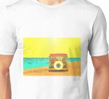 Woody at the Beach - 2 Unisex T-Shirt