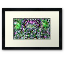 When they came coming back Framed Print