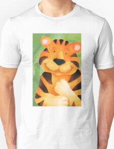 Whimsical tiger painting Unisex T-Shirt