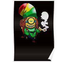 Rasta Minion Poster