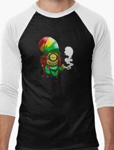 Rasta Minion Men's Baseball ¾ T-Shirt
