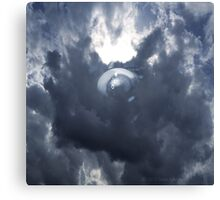EYE IN THE CLOUDS Canvas Print
