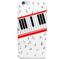 Piano Keyboard Beat It iPhone Case/Skin