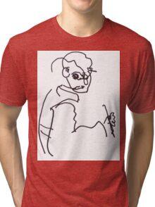 Self Portrait Tri-blend T-Shirt