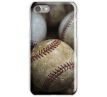 Old Baseball iPhone Case/Skin