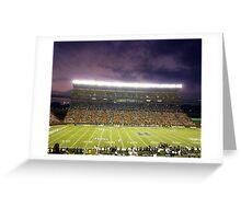 Aloha Stadium at Night Greeting Card