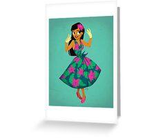 Girl of Adventure Greeting Card