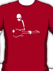 stencil Joe Satriani T-Shirt