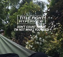 title fight - liar's love by taylorskinner