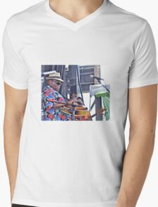 Taj Mahal Mens V-Neck T-Shirt
