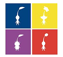 Pikmin Blocks Photographic Print