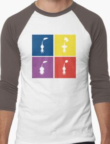 Pikmin Blocks Men's Baseball ¾ T-Shirt