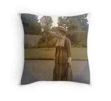 Edwardian Dress Throw Pillow