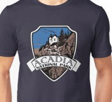 Acadia National Park artistic shield Unisex T-Shirt