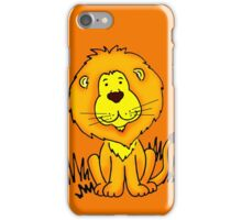 Cute Little Lion graphic drawing iPhone Case/Skin
