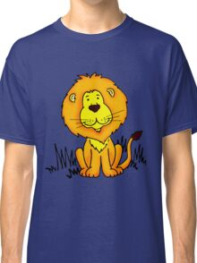 Cute Little Lion graphic drawing Classic T-Shirt