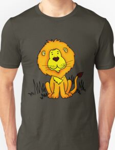 Cute Little Lion graphic drawing T-Shirt