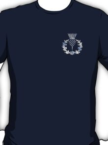 Chrome like Scottish Thistle T-Shirt